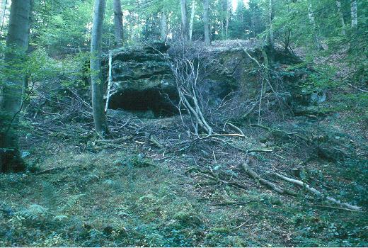 Rock-shelter from Mantzebaach