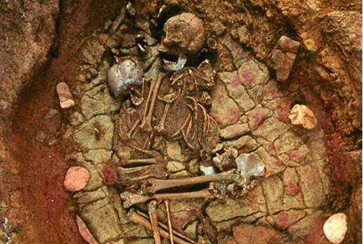 Grave from Bell Becker culture of Altwies - « Op dem Boesch » (around 2300 BC)