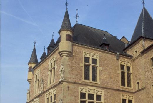 Justice House of the abbey of Echternach. Medieval period. Echternach, 'Dënzelt'
