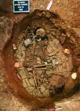 Grave from Bell Becker culture of Altwies - « Op dem Boesch » (around 2300 BC) - © 2001 by C. Weber - MNHA