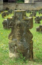 Tombstone. 18. century. Junglinster, churchyard - © 7-2004 by Marc Heinen